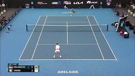 Novak Djokovič se v Adelaide postaral o překvapení
