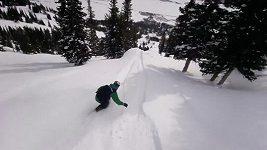Dva snowboardisté řádili v amerických horách