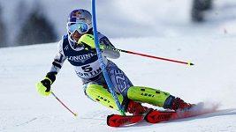 Kombinační slalom Ester Ledecké na MS v Cortině
