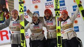 Závod smíšených skokanských družstev na MS vyhrálo Německo