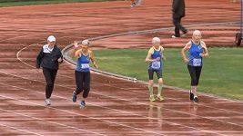 Tým osmdesátnic vytvořil v Canbeře nový atletický rekord