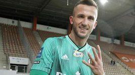 Tomáš Pekhart přijel na reprezentační sraz po čtyřgólovém zápase v dresu Legie Varšava
