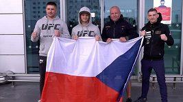 David Dvořák odletěl do zámoří. Nejen k zápasu v UFC, čeká ho tam dvojitá dávka adrenalinu