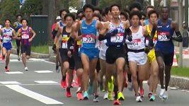 Jak Japonci reagují na generálku olympijského maratonu?