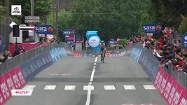 Taco Van der Hoorn ovládl teřtí etapu Gira
