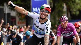 Giacomo Nizzolo vyhrál 13. etapu Gira d'Italia