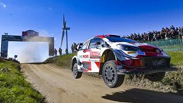 Portugalskou rallye vyhrál Brit Evans