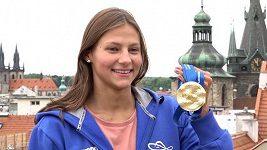 Zlatá plavkyně Barbora Seemanová rozbrečela trenérku. Na olympiádě chce být ještě lepší