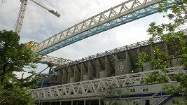Stadion Realu Madrid zasáhl požár během renovace za miliardy
