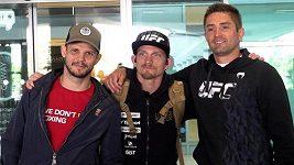 David Dvořák je doma z UFC. Třetí vítězství bylo vykoupeno pořádnými šrámy