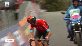 Vítězství domácího Damiana Carusa ve 20. etapě závodu Gira d'Italia