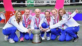 Finálový turnaj Fed Cupu by se mohl hrát v Praze. Barbora Krejčíková to tak chtěla