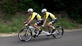Nevidomý sportovec Ondřej Zmeškal chce zvládnout Tour de France