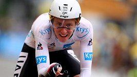 Slovinský favorit Tadej Pogačar vyhrál první časovku na letošní Tour de France