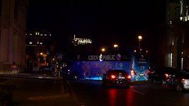 Čeští fotbalisté už jsou v Baku
