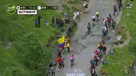 Slovinský cyklista Tadej Pogačar vyhrál královskou 17. etapu Tour de France