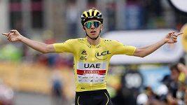 Tadej Pogačar potvrdil dominanci na Tour dalším etapovým triumfem