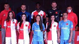 Fotbalisté Slavie představili nové dresy pro nadcházející sezonu