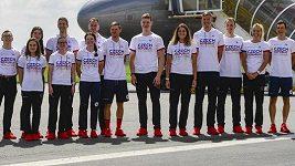 Po celou dobu letu budeme mít roušku, říkají před cestou do Tokia čeští atleti