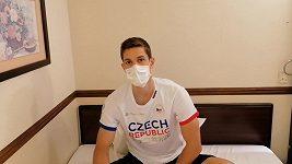 Stolní tenista Lubomír Jančařík mohl být se svým výkonem spokojen