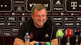 To je na profilicenci, chválil trenér Pavel Vrba Bořka Dočkala za zhodnocení hry Rapidu