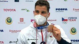Uvítání bronzového olympijského medailisty šermíře Choupenitche