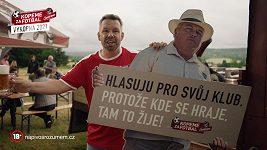 Pavel Horváth v hlavní roli spotu projektu Kopeme za fotbal