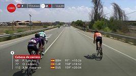 Pátou etapu Vuelty vyhrál Belgičan Jasper Philipsen
