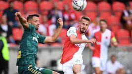 Sestřih zápasu 4. předkola Evropské ligy Slavia - Legia Varšava