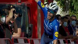 Francouzský cyklista Florian Sénéchal ovládl sprinterský dojezd 13. etapy Vuelty.