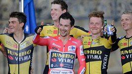 Slovinský cyklista Primož Roglič vyhrál potřetí za sebou Vueltu