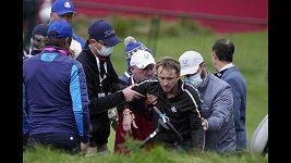 Známý britský herec Tom Fenton zkolaboval na golfovém Ryder Cupu