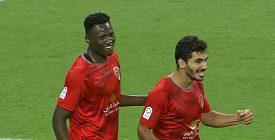 Africký fotbalista Michael Olunga řádil v katarské lize, během jednoho poločasu dal pět gólů