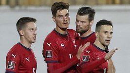 Patrik Schick byl u obou gólů českého týmu. V nároďáku mi to celkem pálí, pochvaluje si