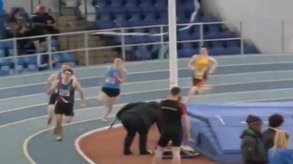Nešťastný běžec
